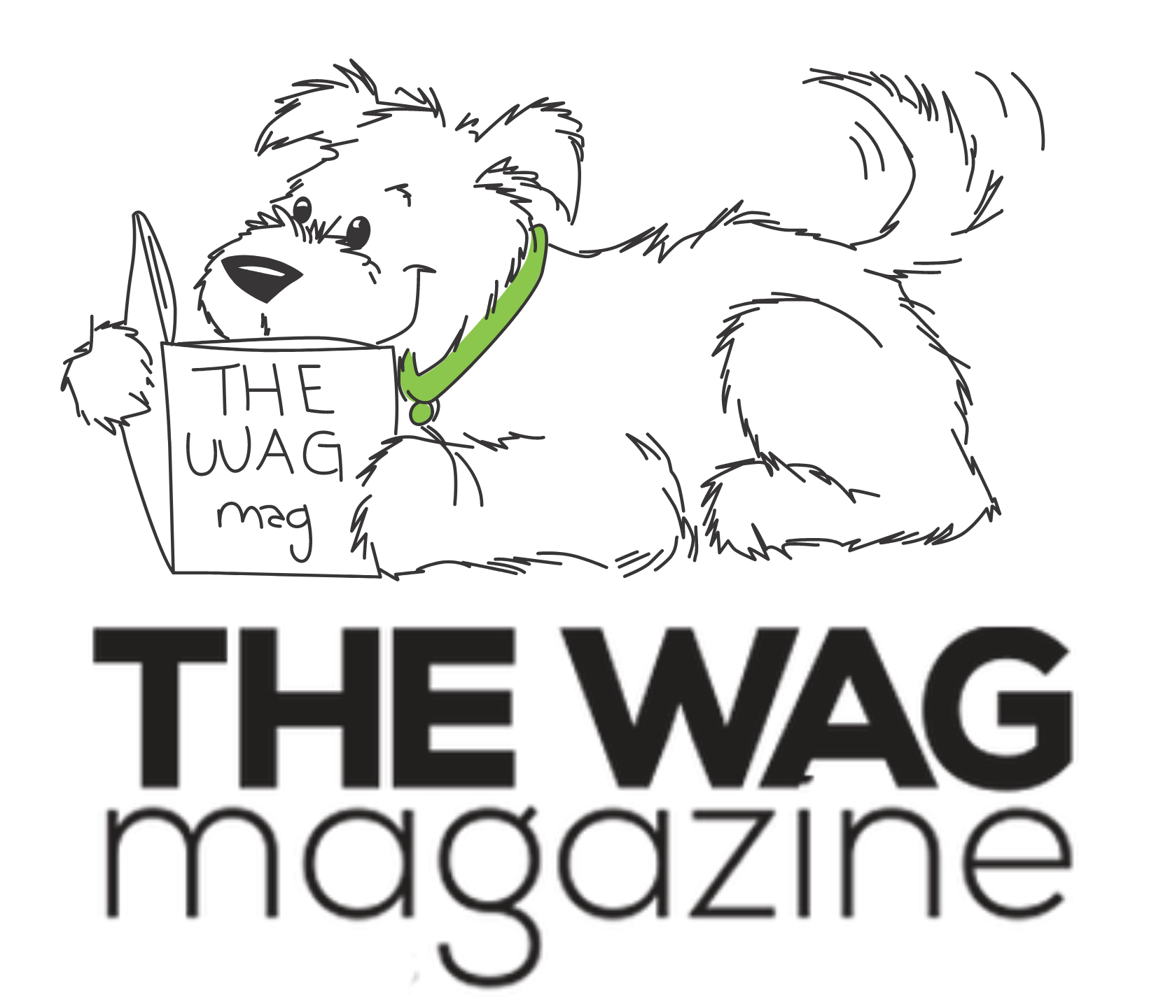 The WAG Magazine final logo